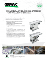 CERMAC-Convoyeur Hygiene Cantilever