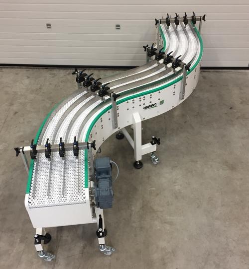 Convoyeurs à chaîne modulaire