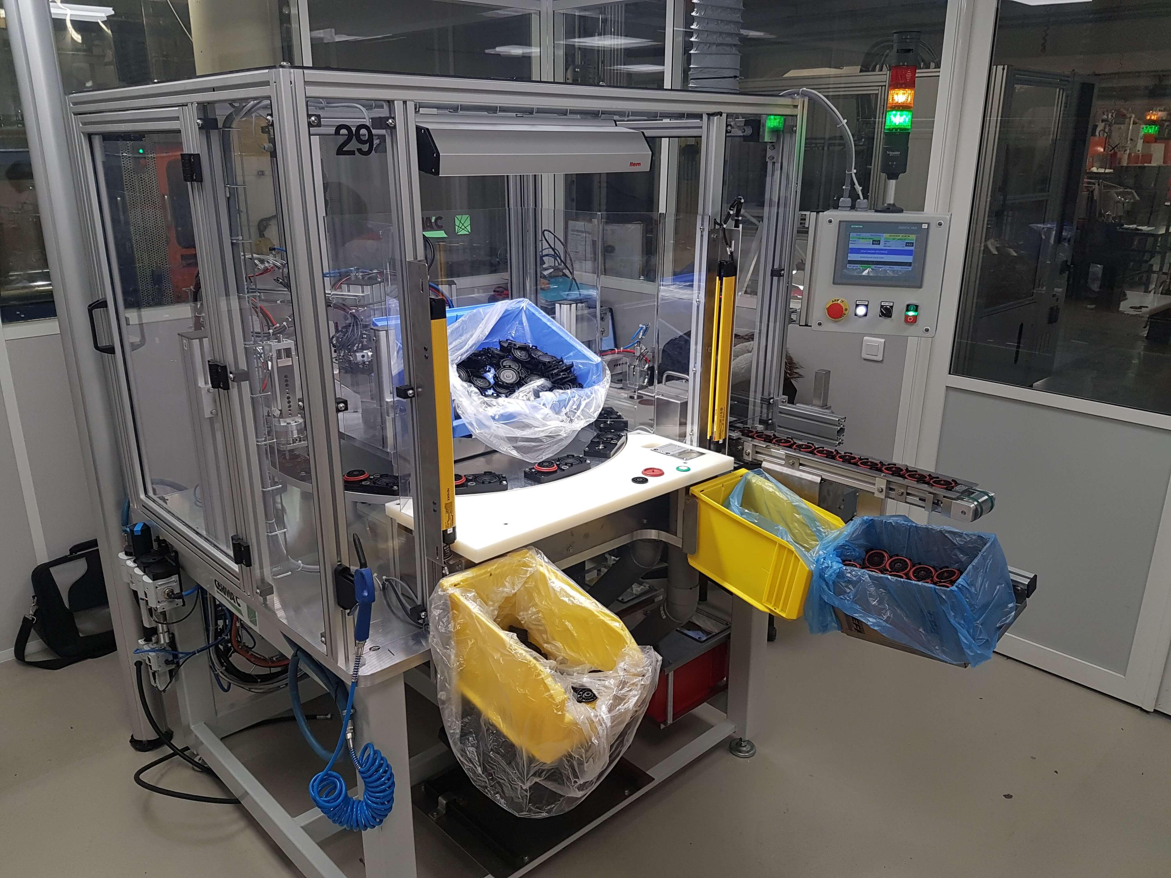 Cerma'c - Réalisation d'une machine d'assemblage 12 postes